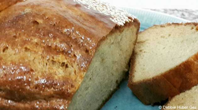 Healthy Tahini Bread Recipe