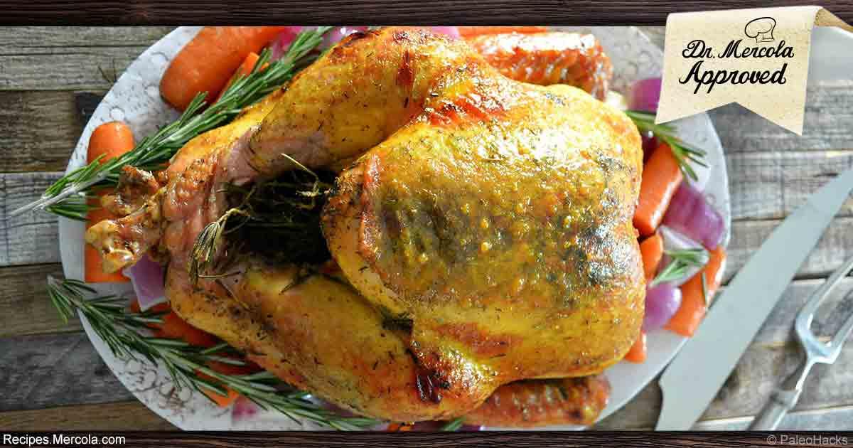 Turmeric and Honey Roast Turkey Recipe