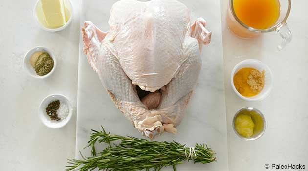 Turmeric and Honey Roast Turkey Recipe