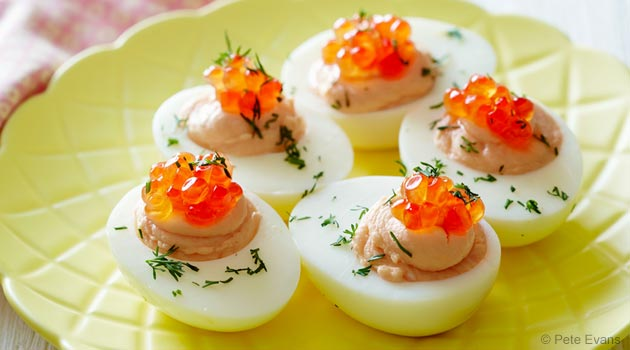 Wild Salmon Deviled Eggs Recipe