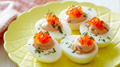 Wild Salmon Deviled Eggs
