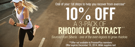 Rhodiola Extract Offer
