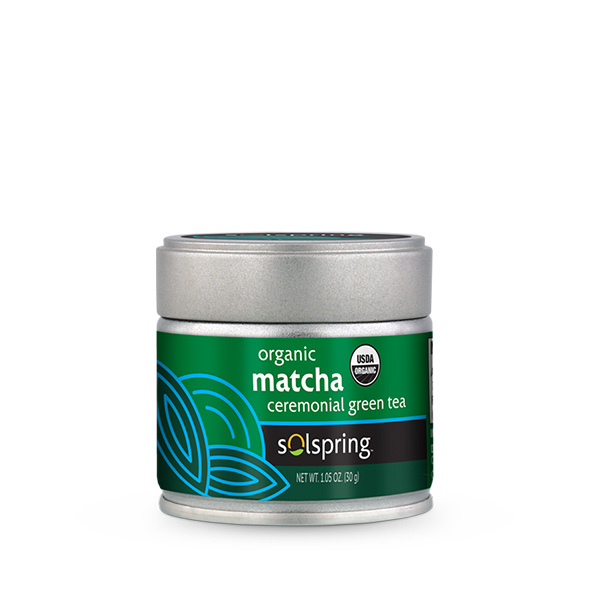 Solspring Organic Matcha Ceremonial Green Tea