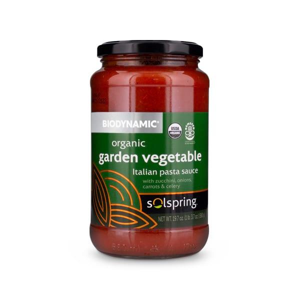 Solspring™ Biodynamic® Organic Roasted Eggplant Italian Pasta Sauce