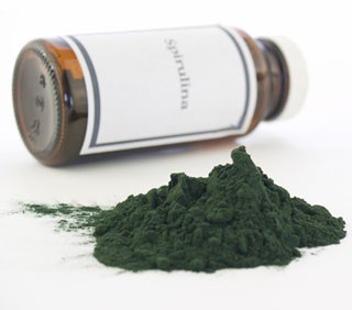 Deep Blue Green Spirulina