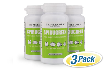 SpiruGreen Superfood for Pets 3 pack