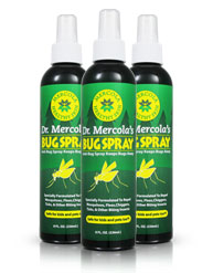 Mercola Bug Spray 3-Pack