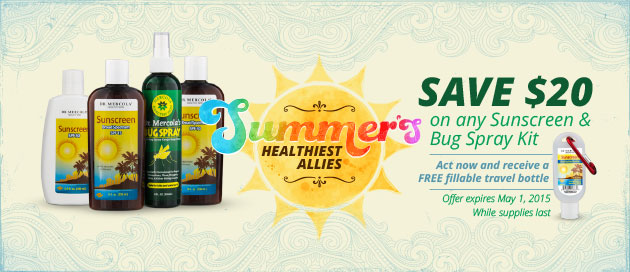Sunscreen Special Offer