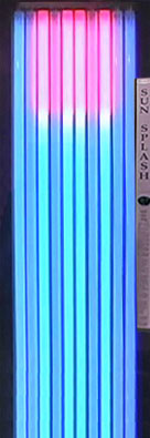 SunSplash Renew Standup Tanning Bed