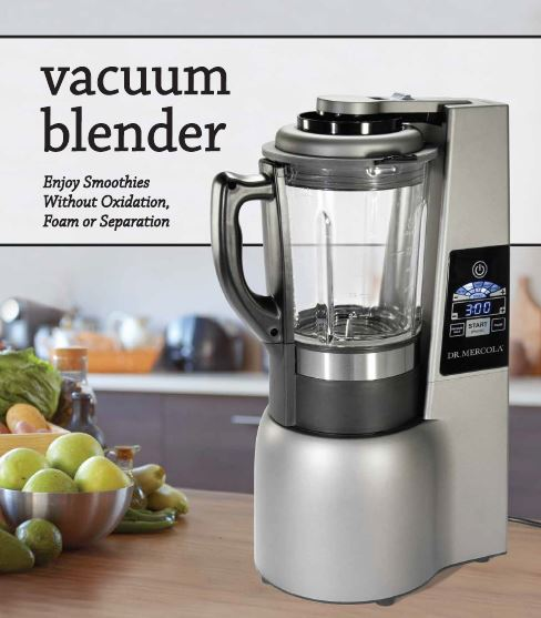 vacuum blender manual