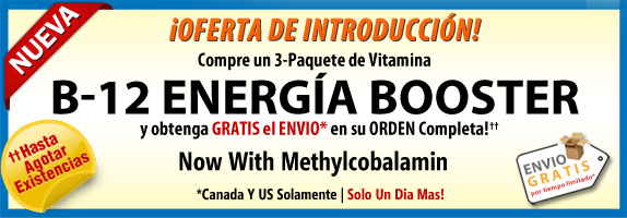 B-12 Energía Booster Offer Banner