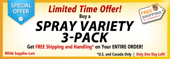 Spray Variety Special Offer