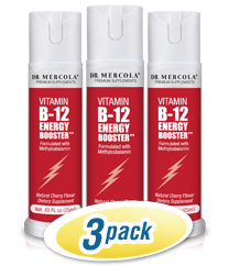 Vitamin B12 Energy Booster Spray 3-Pack