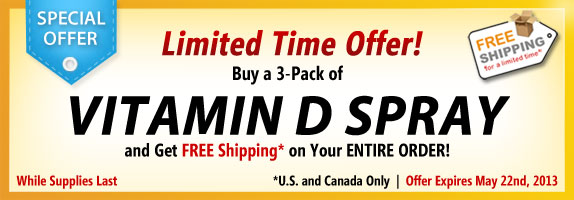 Vitamin D Spray 3-Pack Offer Banner