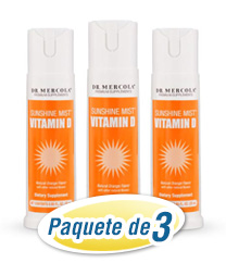 Vitamin D Spray 3-Pack