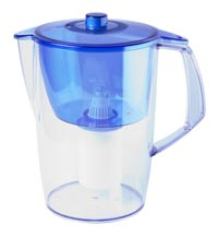 Pitcher style water filter