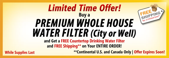Premium Whole House Water Filter Banner