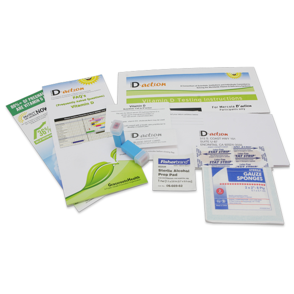 Vitamin D Test Kit: For Consumer-Sponsored Research