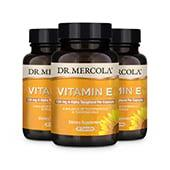 Vitamin E capsules (30 per bottle): 90 Day Supply
