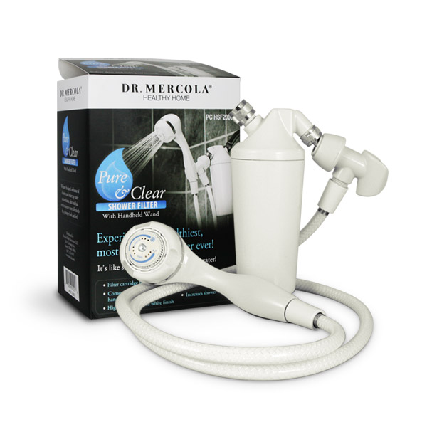 Shower Filter with Handheld Wand 1 Unit