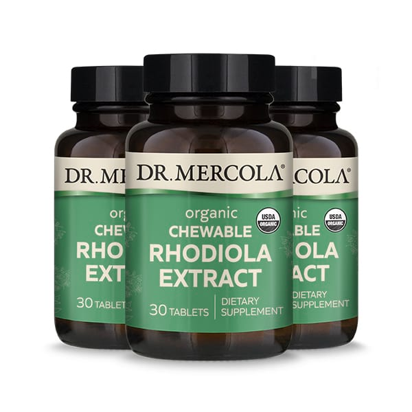 Rhodiola Extract (30 per bottle): 90 Day Supply