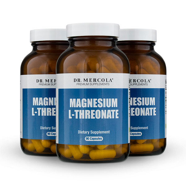 Magnesium L-Threonate (90 per bottle): 90 Day Supply