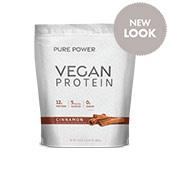 Vegan Protein Sweet Cinnamon (30 Servings): 1 Bag