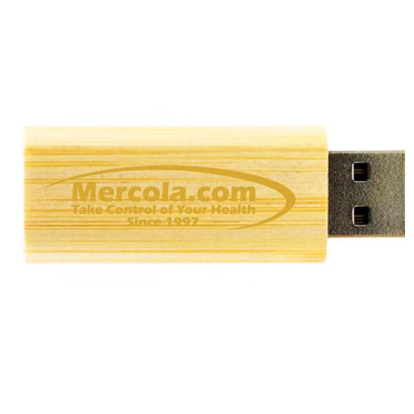 Bamboo USB Flash Drive (2GB)