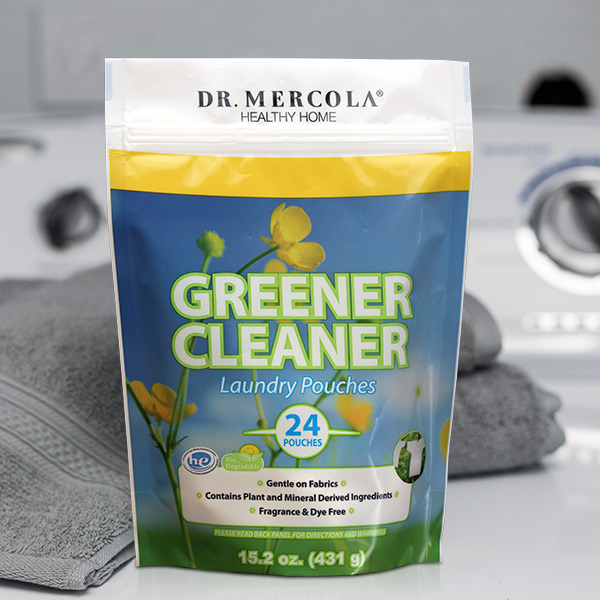 Greener Cleaner Laundry Pouches (24 Pouches): 1 Bag