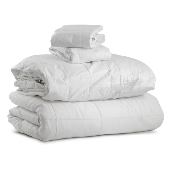 Silk-Filled Bedding Complete Pack Queen