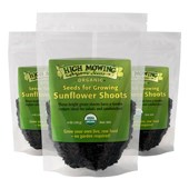 Sunflower Shoots (6oz. Bag): 3-Pack