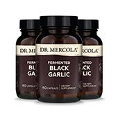 Fermented Black Garlic (60 per bottle): 90 Day Supply