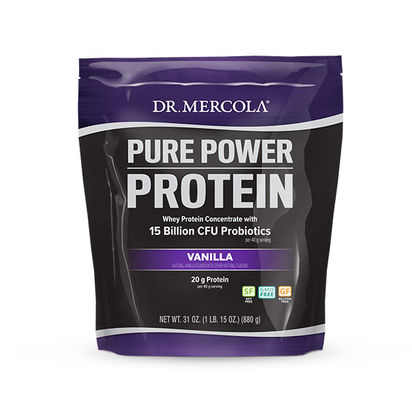Pure Power Protein - Vanilla (22 Servings): 1 Bag