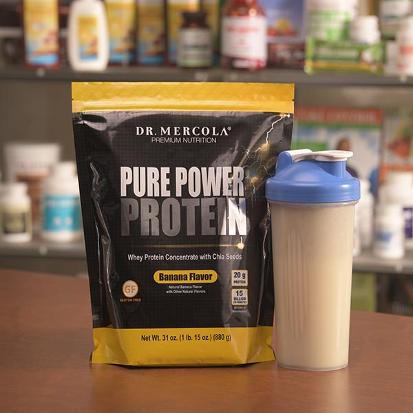 Pure Power Protein - Banana (22 Servings): 1 Bag