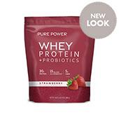 Pure Power Protein - Strawberry (22 Servings): 1 Bag