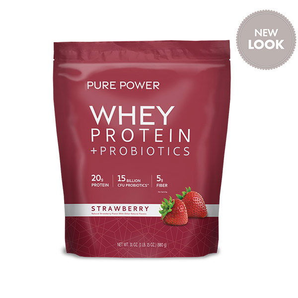 Pure Power Protein - Strawberry