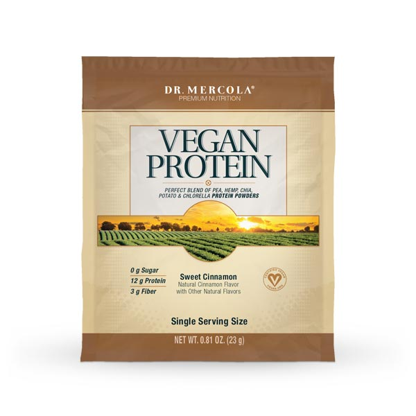 Vegan Protein Single Serve Pack- Cinnamon