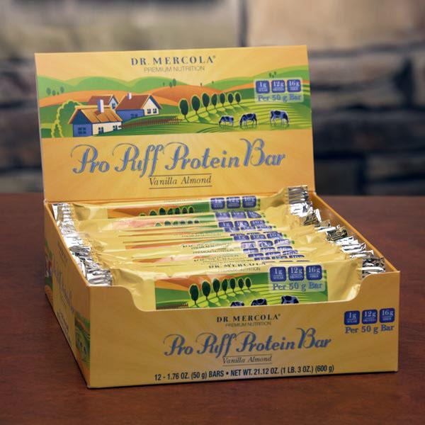 Pro Puff Protein Bar Vanilla Almond