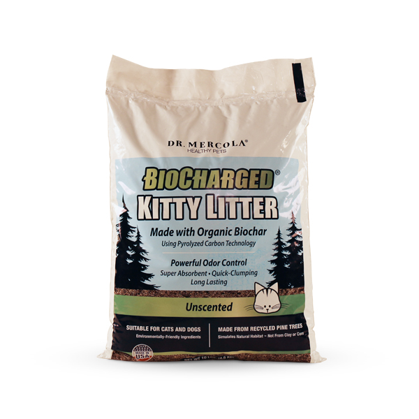 BioCharged Kitty Litter (10 lbs.): 1 Bag
