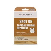 Spot On Topical Herbal Repellent For Cats & Kittens (3 Applicators): 1 box