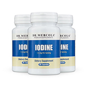 Iodine (30 per bottle): 90 Day Supply