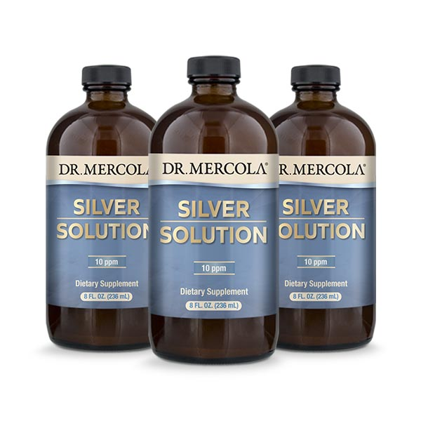Silver Solution Refill 3-pack