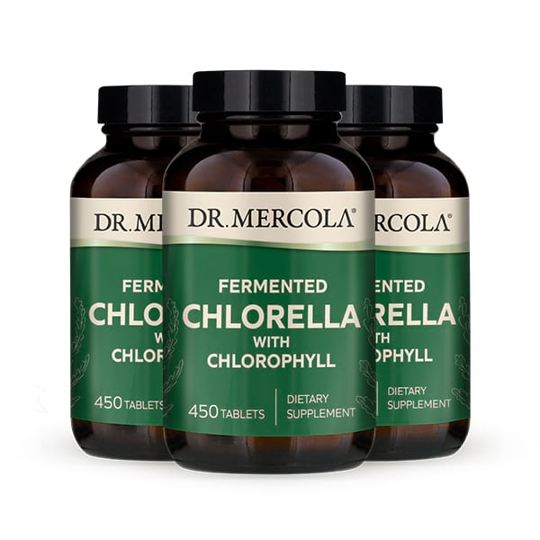 Fermented Chlorella (90 Servings): 3-Pack