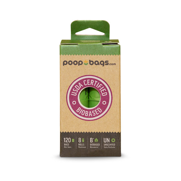 The Original PoopBags (8 Rolls): 1 Box