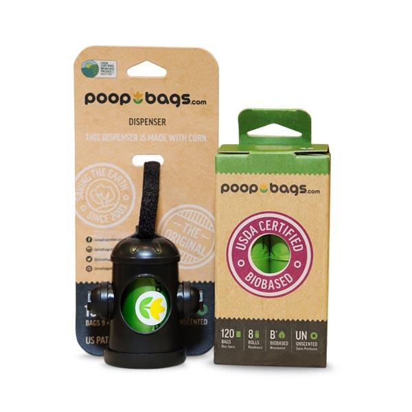 Bolsas Biodegradables para Heces de Mascotas Kit Principiante
