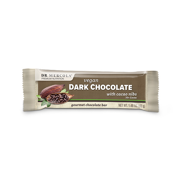 Vegan Dark Chocolate Bars with Cacao Nibs 1 bar