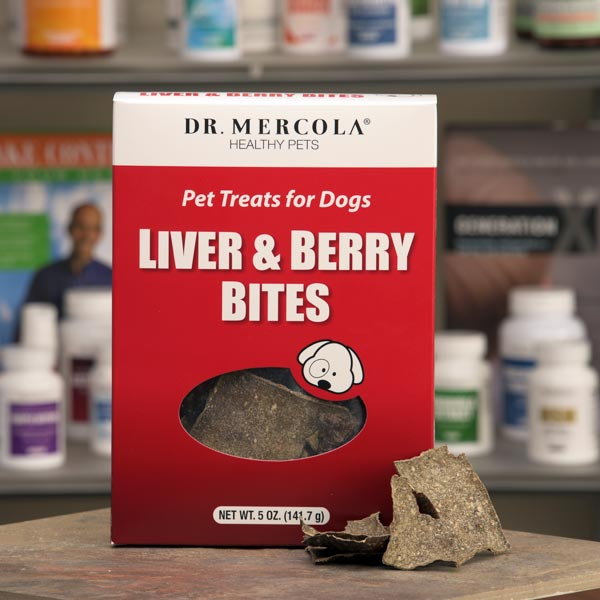 Liver and Berry Bites