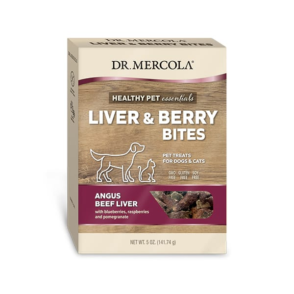 Liver and Berry Bites: 1 box
