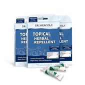 Spot On Topical Herbal Repellent For Dogs & Puppies (3 Applicators per box): 3 boxes