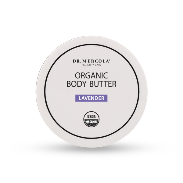 Organic Body Butter Lavender (4 oz): 1 container
